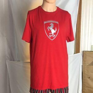 Red Ferrari T-Shirt Size XL